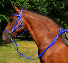 ANY COLOR Quick Change Snap Browband HALTER BRIDLE & BREAST COLLAR Beta Biothane