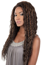 Beshe Synthetic Lace Front Wig- LACE-57  SUPER LONG DEEP OL 26""