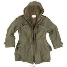 GERMAN ARMY CLASSIC PARKA MILITARY COMBAT MENS JACKET COAT + LINER OLIVE S-6XL