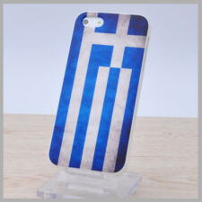 Vintage Flag Case Iphone5 Case Iphone 5 5g Case Hard Back Skin Greece