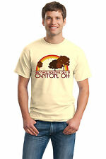 ANOTHER BEAUTIFUL DAY IN CANTON, OH Retro Adult Unisex T-shirt. Ohio City Pride