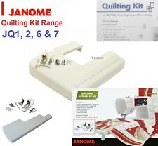 JANOME SEWING MACHINE QUILTING FOOT KIT, TABLE QUILT PACK - All Patchwork feet