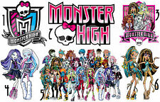 STICKER / AUTOCOLLANT MONSTER HIGH REPOSITIONNABLE