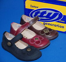 TTY Girls Elona Leather Shoes Various sizes & Colours BNIB