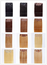 """One * 30"""" Remy Human Hair Clip In Extensions 8pcs &120g"""