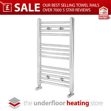Chrome Heated Bathroom Towel Rail Radiator - All Sizes!!