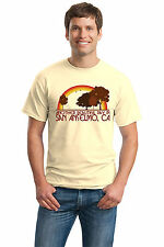 ANOTHER BEAUTIFUL DAY IN SAN ANSELMO, CA Retro Adult Unisex T-shirt. California