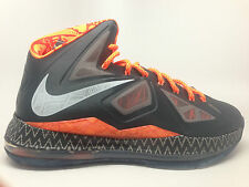 Nike Lebron 10 X 'BHM' Black History Month 583109-001 LIMITED RELEASE