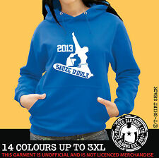 Ski & Snowboard Sauze D'oulx - Hoody, Hoodie, Ski Holiday Hooded Sweat (998)