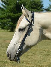 *DRAFT HORSE* Any Color JEWEL BLING RHINESTONE Western One EAR BRIDLE Headstall