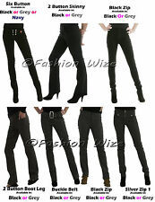 Womens Hipsters Ladies Pants Sizes 4-16 Trousers Miss Sexies Miss Chief