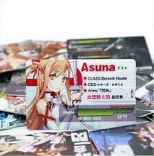 SAO Anime Sword Art Online Kirito Asuna CardSize 8G USB Flash Drive 18 Selection