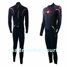 MADMONKEY MENS FULL WETSUIT 3mm HIGH DENSITY NEOPRENE bodyboard kayak dive sail