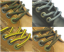 Boot Laces 140 cm 55 in Black Brown Grey Navy Olive Hiking Long Round Shoelaces
