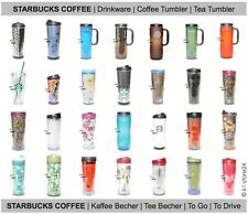 STARBUCKS COFFEE TUMBLER Thermobecher Kaffeebecher Reise Becher Travel Mug To Go