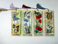History & Heraldry 3D Personalised Bookmarks - Names: T - W