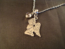'In Loving Memory' Engraved Heart Necklace-Memorial/Keepsake Elizabeth*SRAJD