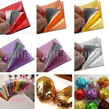 """100pcs Square Foil Wrappers For Candy Chocolate Sweets Confectionary 3"""" X 3"""""""