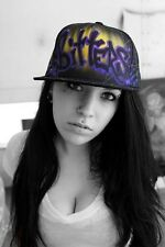 Pinterest airbrush clothing hats caps sexy cute awesome spray painted trucker