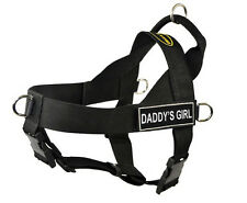 No Pull Universal Dog Harness with Fun Patches DADDY'S GIRL