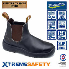 BLUNDSTONE Xtreme 172 Steel Toe Work Boots - AUS Mens Sizing