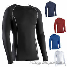 i-sports Base Layer Top Adult Unisex Long Sleeve New Sport Compression Fit Tops