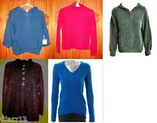 Ladies sweaters, cardigan or hooded sweater jacket -Pick 1