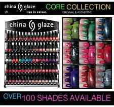 New CHINA GLAZE Nail Polish Varnish Colours Choose From Full Range Red Purple XL