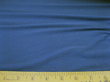 Discount Fabric Polyester Lycra /Spandex Athletic Sports Mesh Blue LY834