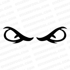 #191 EVIL EYE ANY SIZE OR COLOR CUSTOM CUT VINYL DECAL STICKER