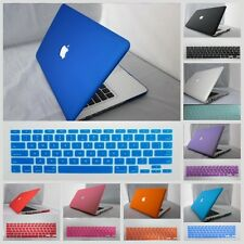 11 Colors Rubberized Hard Case Cover For Macbook Pro/AIR /Retina/+Keyboard Cover