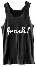 FRESH MENS WOMANS SCOOP VEST TANK SUPREME OBEY WASTED YOUTH HIPSTER SWAG STYLE