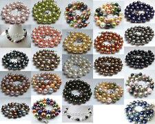 variations color 10mm round mother-of-pearl shell bib opera sweater necklace
