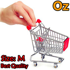 Toy Trolley, Medium Size Quality Mini Shopping Cart Storage Basket weirdland