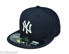 New Era New York YANKEES GAME Hat On Field 59FIFTY CAP All Sizes NAVY
