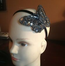 *NWOT* Sequin Butterfly Headbands Gold or Black or Silver