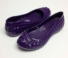 Crocs Super Molded Patent Flat Mulberry  US Women All Size 5 6 7 8 9 10 11