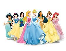 54 X DISNEY PRINCESS TOP QUALITY EDIBLE WAFER/FONDANT PAPER CUP CAKE TOPPERS