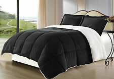 Borrego Sherpa/Berber Down Alternative Comforter mini Set, Multiple Colors, Size