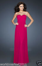 Manual Customized Sexy Satin Strapless Backless Rose Wedding Party Long Dress