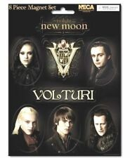 NEW MOON MAIN CAST AND VOLTURI V LOGO MAGNET SHEETS TWILIGHT VAMPIRE OFFICIAL