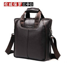 Men's Genuine Leather Handbag Messenger Shoulder Briefcase Laptop BAG Purse 8899