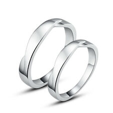 His & Hers Rings Sterling Silver Couple Promise Rings Wedding Rings Nickel Free