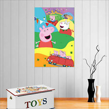 PEPPA PIG WALL ART POSTER