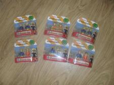 BNIP Fireman Sam NEW pack of 2 figures Officer Steele Norman Elvis Penny
