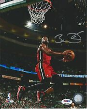 DWYANE WADE PSA/DNA CERTIFIED AUTHENTIC SIGNED 8X10 HEAT PHOTOGRAPH AUTOGRAPHED