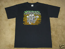The Allman Brothers Band Mushrooms FEA S, M, XL, Navy T-Shirt