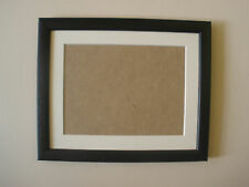 Black wooden frame with mount ALL SIZES