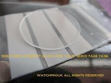 """QUALITY REPLACEMENT GLASS crystal  """"MADE IN GERMANY""""   SEIKO 7A28 SOME 7A38 7A48"""
