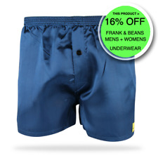 1 PACK SATIN BOXER SHORTS NAVY BLACK GREY SIZES AVAILABLE L L XL XXL XXL XXL XXL